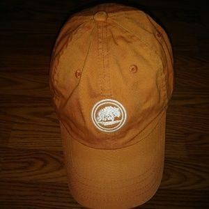 Timberland Orange Baseball Hat/Cap